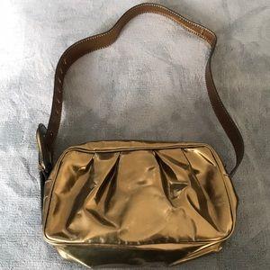 Fendi bronze shoulder bag
